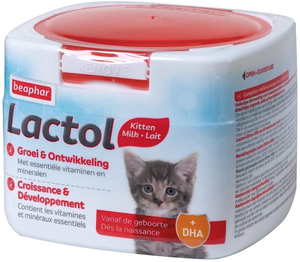 Lait maternisé pour chaton de 2 semaines
