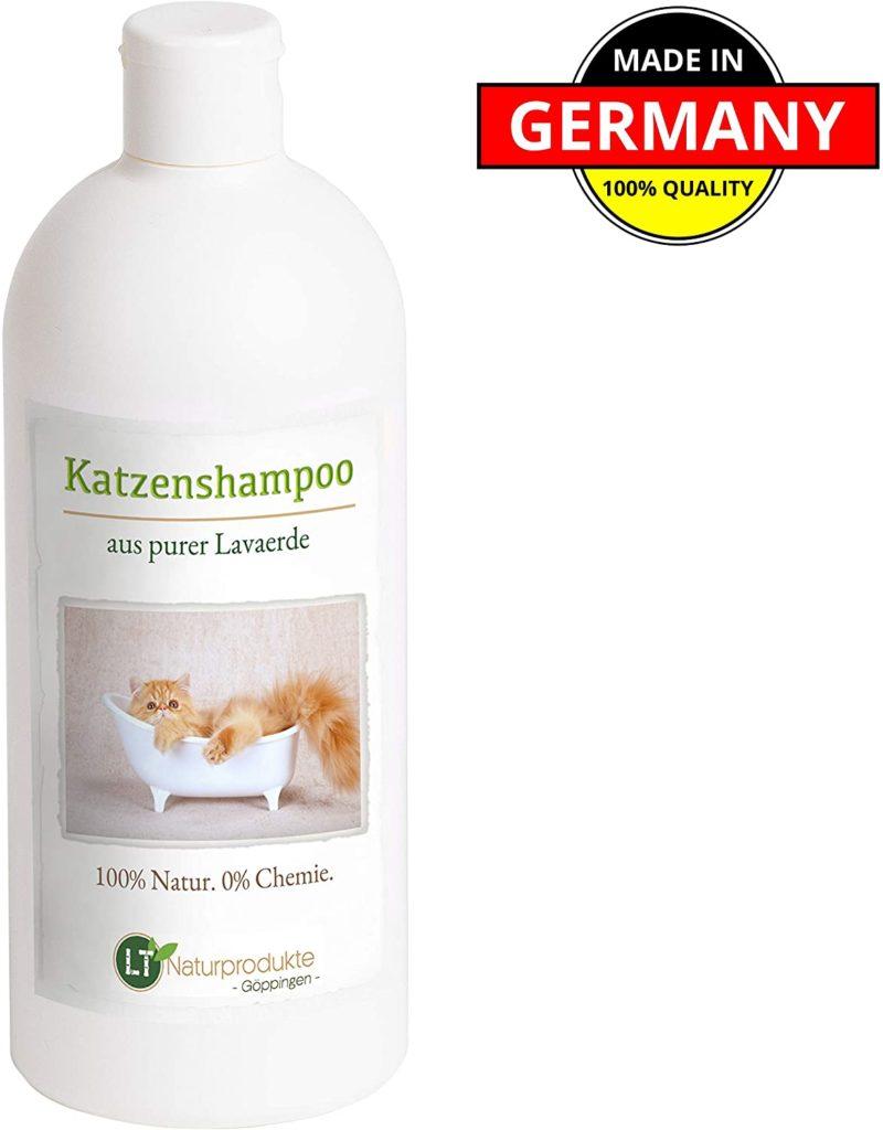 shampoing bio pour laver son chat naturellement