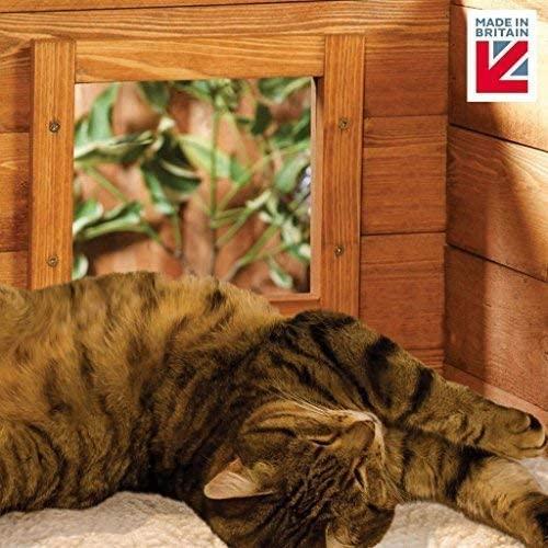 niche chat auto chauffante pour froid