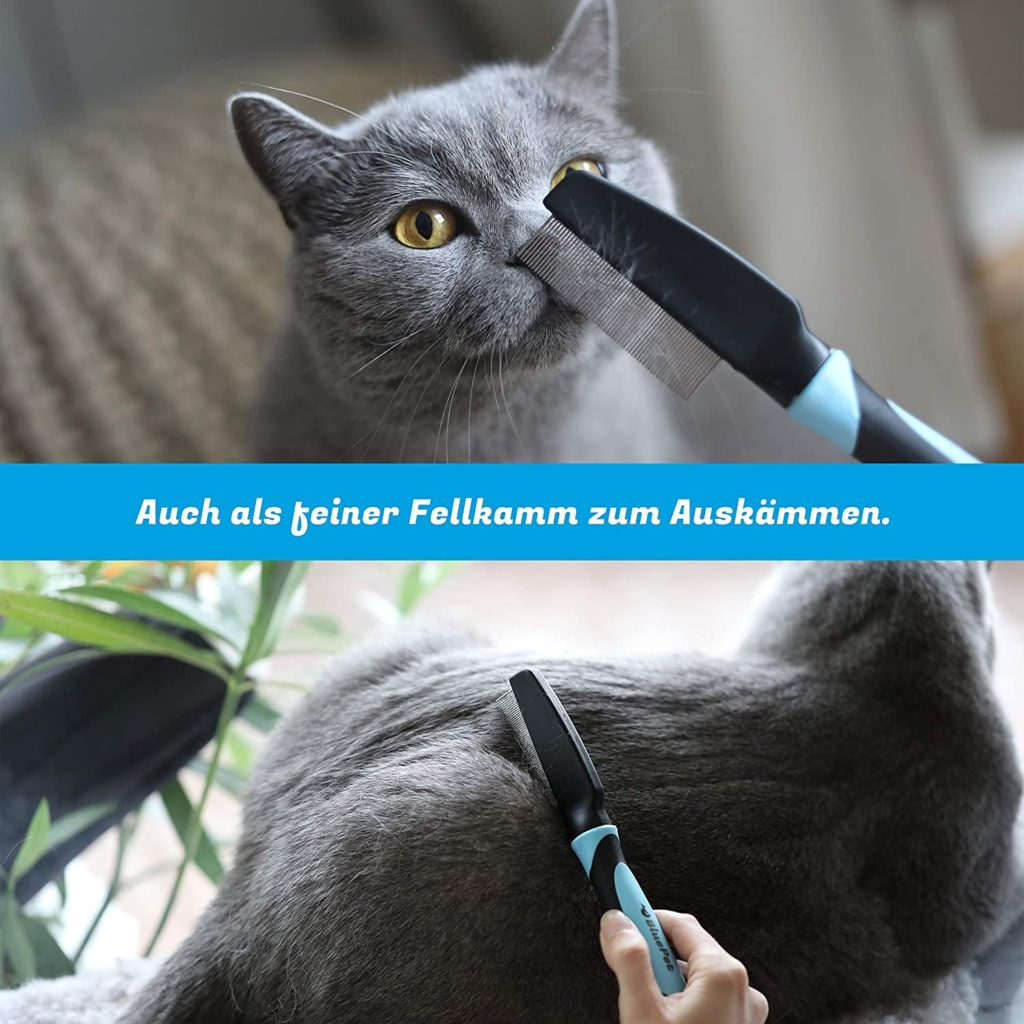 peigne à puces pour enlever les puces naturellement d'un chaton